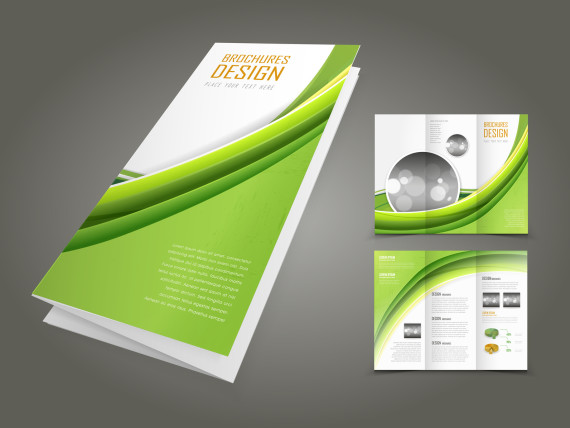 A4 to DL brochure sample