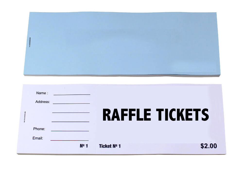 printed raffle tickets cheap